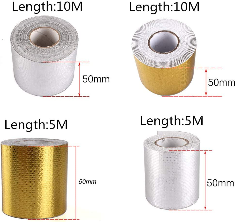 Heat Shields 5M, Gold Top10 Racing Gold Adhesive Backed Heat ...