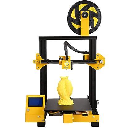 Snjin Impresora 3D Escritorio Educación Grado DIY Pequeña ...