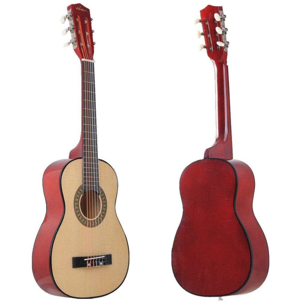 acoustic classical guitar 30 inch half size beginner child student guitar set 691197046614 ebay. Black Bedroom Furniture Sets. Home Design Ideas
