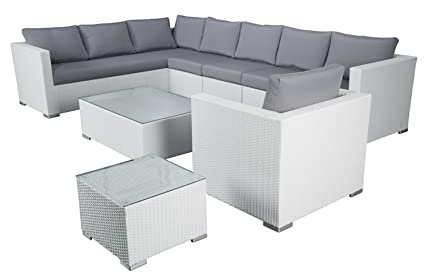 Amazon.com: velago muebles de patio generoso al aire última ...