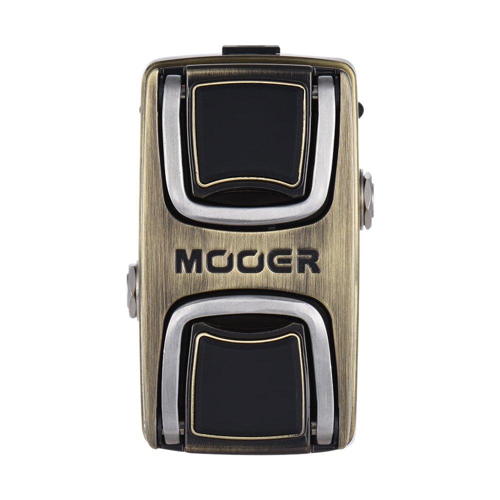 Muslady MOOER Wahter Wah Pedal de Efecto de Guitarra Interruptor de Detecci/ón de Presi/ón Full Metal Shell