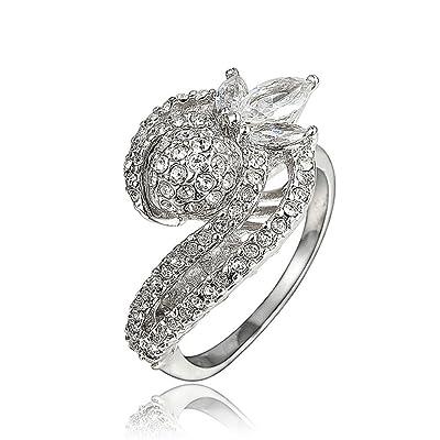 """""""Amberma Special"""" élégant 18ct Bagues, bijoux pour femme, cadeaux pour femme Filles amis"""