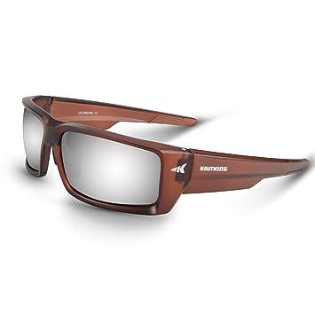 KastKing Jetly Deporte Gafas de Sol, Espejo Color Lentes polarizadas, UV Marco de protección