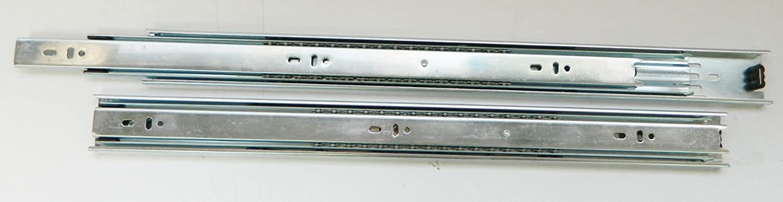Schön 2 Schubladenführungen Und Gleiter Schiene Möbel Reißverschluss Schublade 40  X 4,5 Cm COULISSE Schiebemechanismus: Amazon.de: Baumarkt