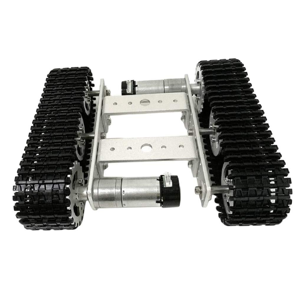 SM SunniMix Mini TP100 Smart RC Robot Tank Coche Chassis para Arduino DIY Herramientas Manuales Fontanería