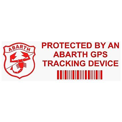 5 x ppabarthgpsred rojo GPS dispositivo de seguimiento de seguridad ventana pegatinas 87 x 30 mm