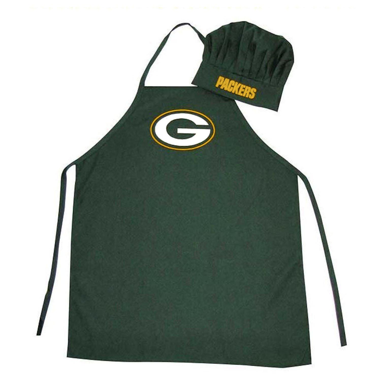 Green Bay Packers Official logo cappello da cuoco e grembiule
