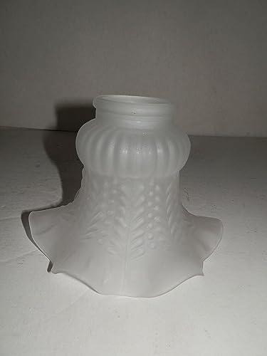 Vetro di ricambio bianco ambra paralume per applique lampadari in ferro e ottone
