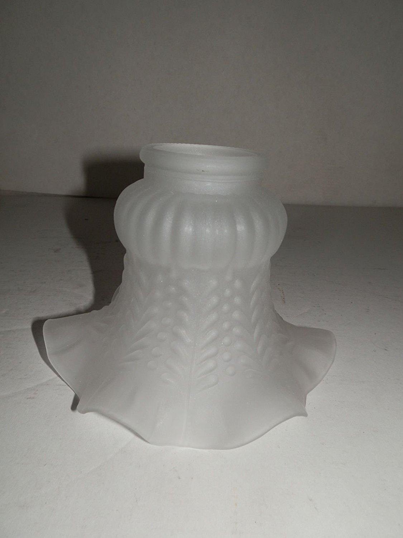 Campanella Paralume Vetro di ricambio per lampade e lampadari In ferro ed ottone arterameferro