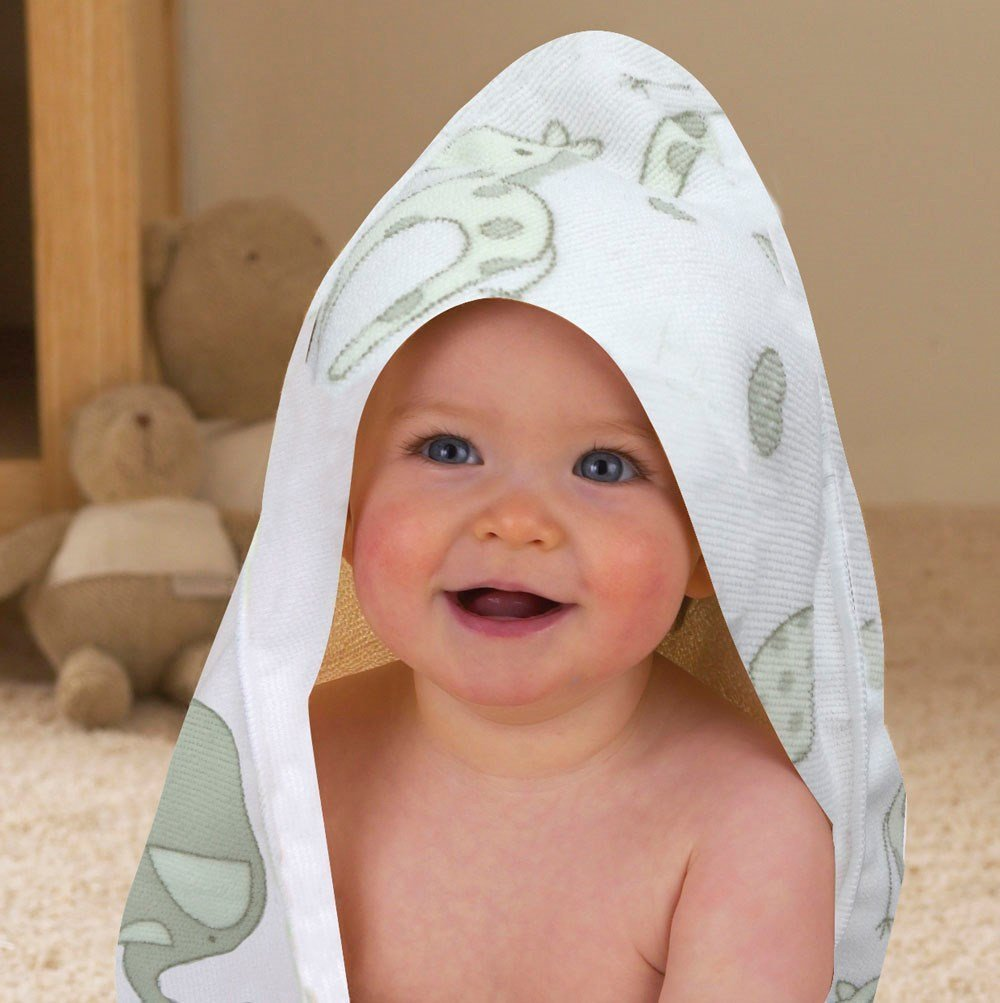 R Kids Elli and Raff Printed Hooded Towel