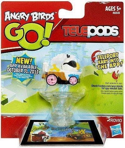 Angry Birds GO! Telepods Kart WHITE Bird (Telepods Go Angry Birds)