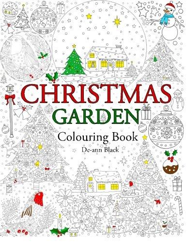 Christmas Garden: Colouring Book
