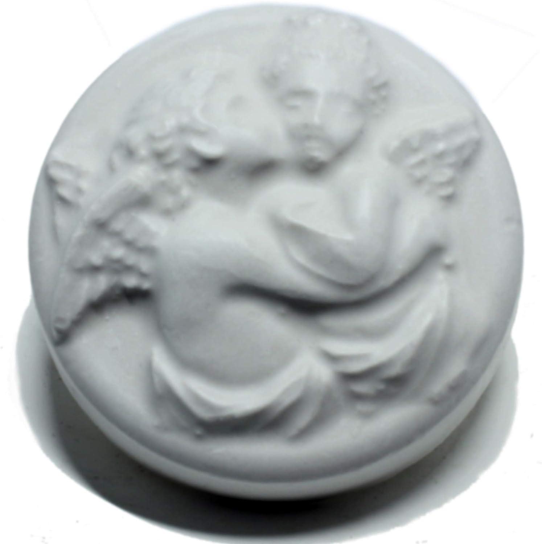 Ausf/ührung Soft bougies Seifengiessform Zwei Engel