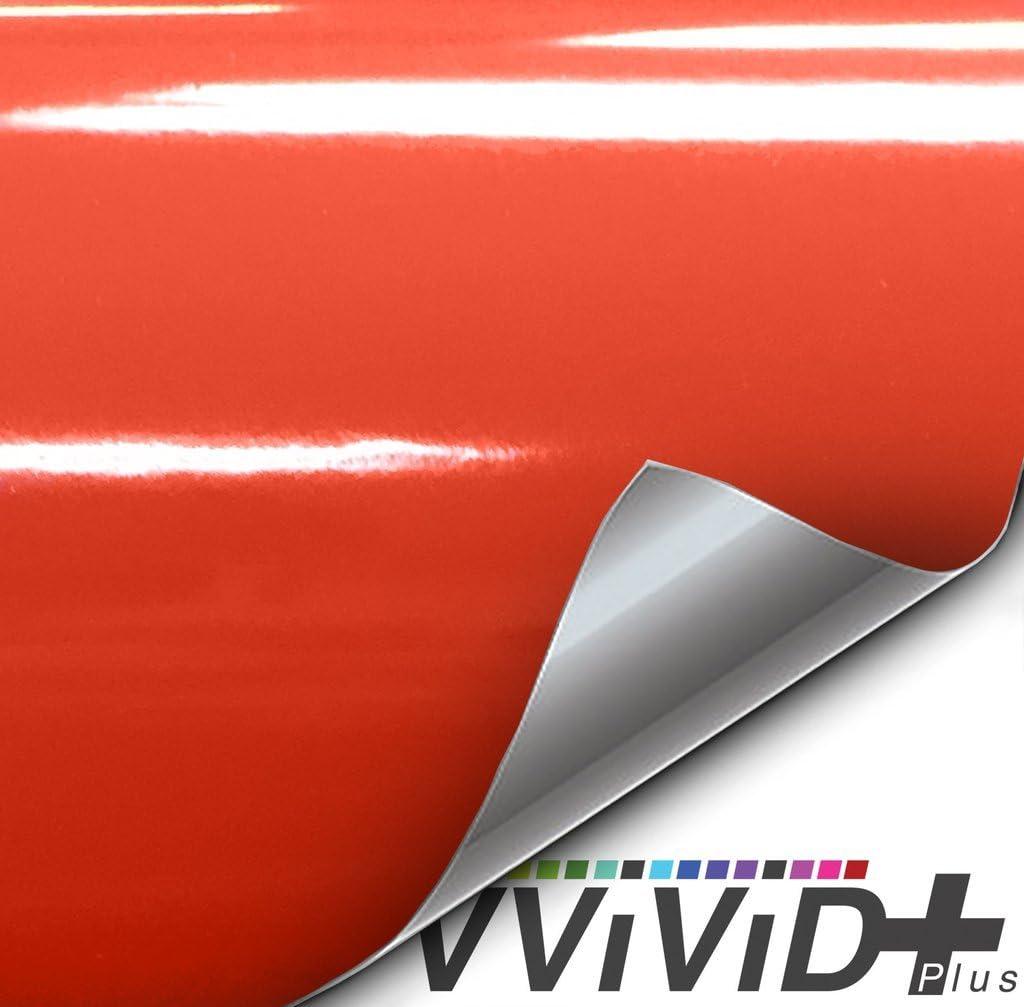 1ft x 5ft, Gloss Viper Lime Green Premium Vinyl Wrap Film VViViD