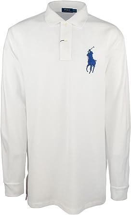 Polo Ralph Lauren Men's Big & Tall Big Pony Long Sleeve Shirt