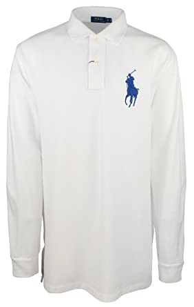 f7be11832877 Image Unavailable. Image not available for. Color  Polo Ralph Lauren Men s  Big   Tall Big Pony Long Sleeve ...