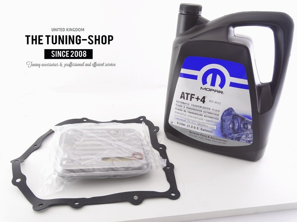 Oil Filter Kit AT40 FK-177 & 5l ATF+4 4 Speed Automatic Transmission MOPAR