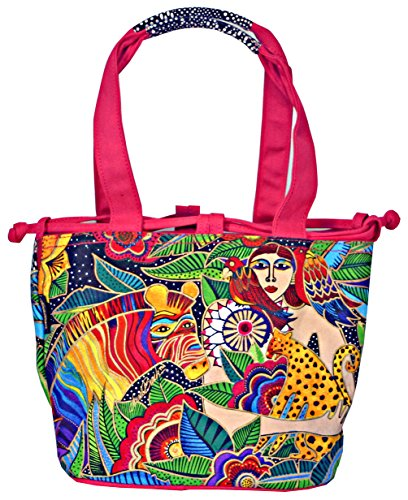 Laurel Burch Earth Song Womens Drawstring Carry Bag