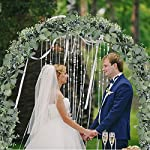 Supla-59-Long-Faux-Eucalyptus-Leaves-Greenery-Garland-Artificial-Silver-Dollar-Eucalyptus-Garland-in-Grey-Green-Wedding-Arch-Swag-Backdrop-Garland-Doorways-Table-Runner-Garland-Indoor-Outdoor
