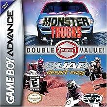 Monster Trucks / Quad Desert Fury Double Pack