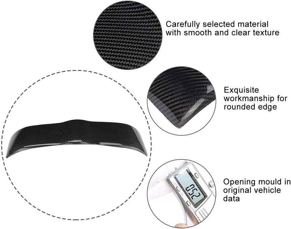 Zifferblatt Armaturenbrettabdeckung Carbon-Instrumententafel Innenschutzverkleidung Passend f/ür 350Z Z33 Armaturenbrettverkleidung