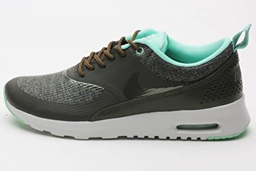 41160e1b4aa1 Nike Womens Air Max Thea PRM Cargo Khaki Light Ash Grey 616723-301 11.5   Amazon.ca  Shoes   Handbags
