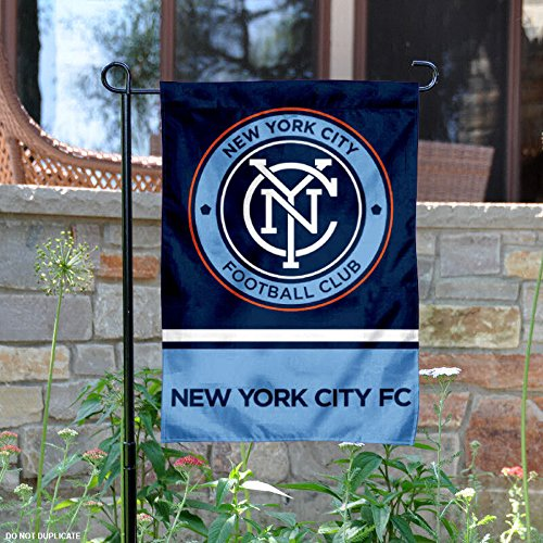 WinCraft New York City Football Club Double Sided Garden Flag by WinCraft