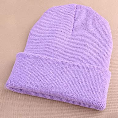 d2c7acbf5f6 Image Unavailable. Image not available for. Color  RXIN Fashion Winter Cap  for Women Knitted Men Beanie Casual Warm Hats Bonnet Girl Hip hop