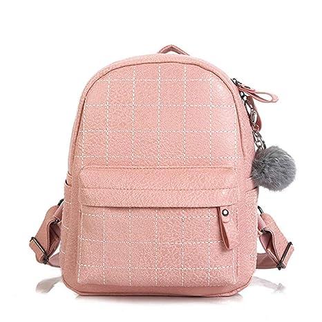 Zaino scuola donna zaini in pelle per ragazze adolescenti borsa a tracolla  borsa da viaggio in a5b8ffeccf8