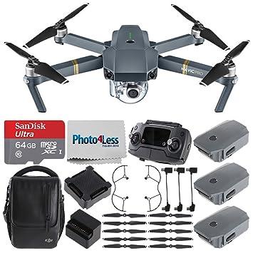 DJI Mavic Pro (Fly más Combo) + DJI Mavic hélice guardia + Sandisk ...