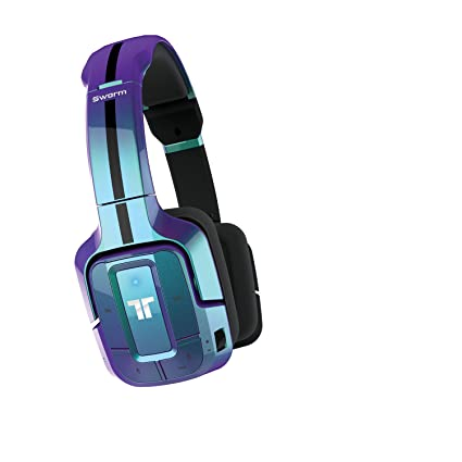 40ac2c09ac3 Tritton Swarm Wireless Mobile Surround Headset - Blue: Amazon.co.uk:  Electronics