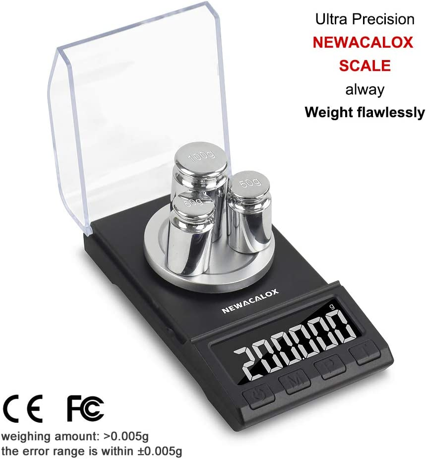 High Precision Digital Milligram Pocket Scale 50 x 0.001g sensitivity Small Size