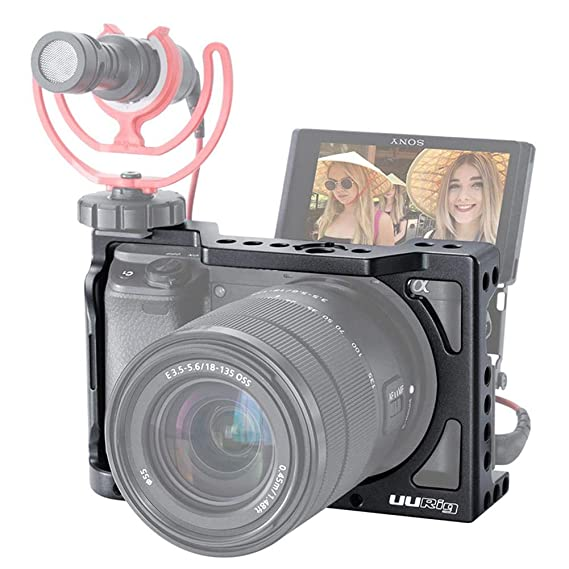 Kit Jaula para Sony Kit cámara Jaula para Sony A6400 estabilizador ...