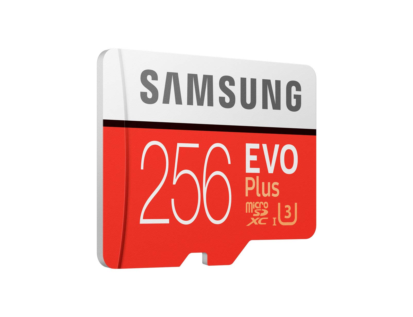 Samsung 256GB EVO Plus Class 10 UHS-I microSDXC U3 with Adapter (MB-MC256GA) by Samsung (Image #2)