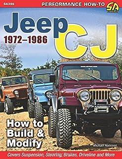 jeep cj rebuilder s manual 1972 1986 mechanical restoration unit rh amazon com 1987 Jeep 1989 Jeep