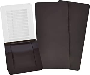 "SEAL360 Magnetic Vent Covers (3-Pack) Pocketed Design for Complete Seal | 5.5"" X 12"" For Floor, Wall, or Ceiling Vents and Air Registers 