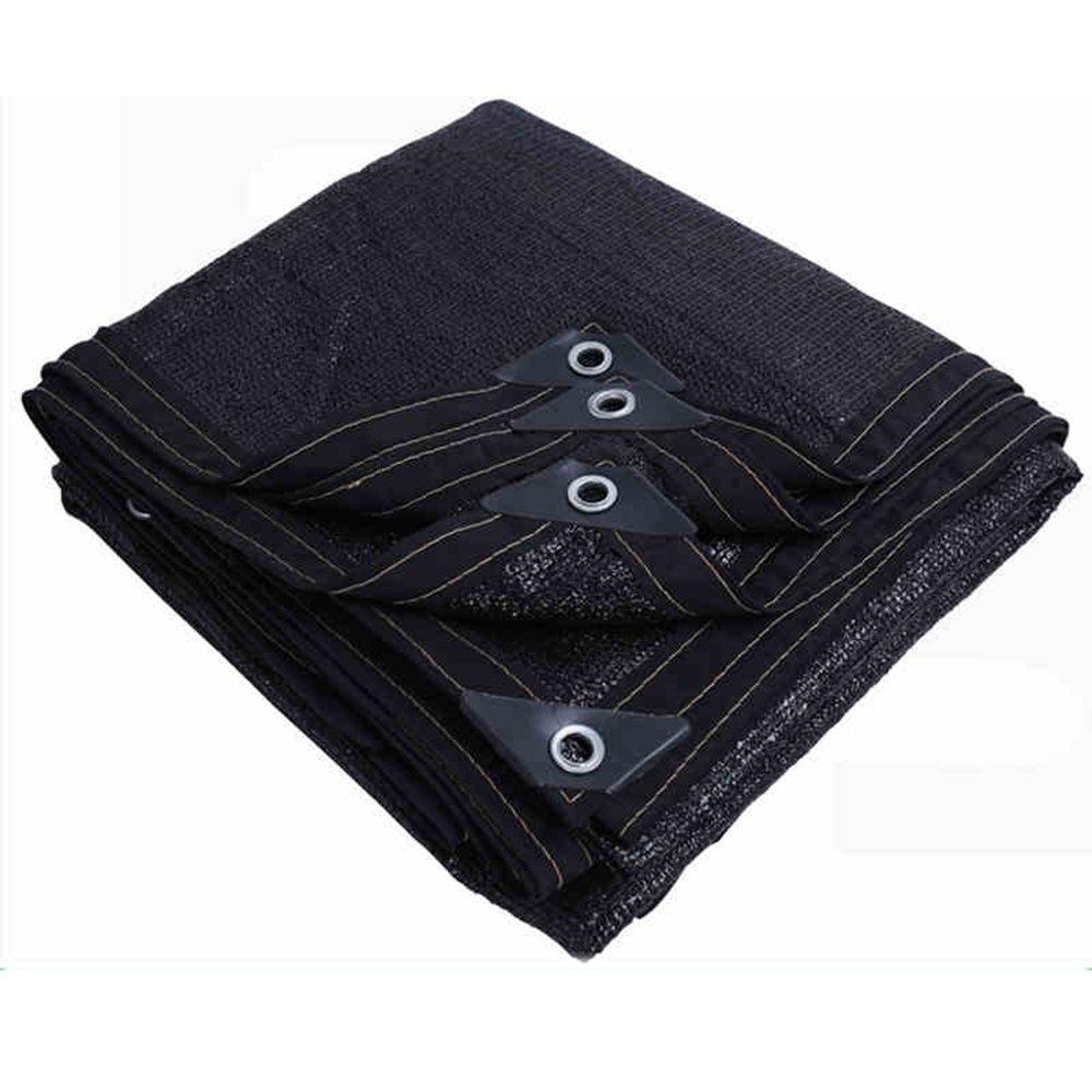 FEIFEI サンシェード, 90-95%サンメッシュ日焼け止めシェードクロスガーデンカバーのUV耐性ネット花植物パティオの芝生 カスタマイズされたサイズ (色 : 黒, サイズ さいず : 5x8m) 5x8m 黒 B07H5QDVVR