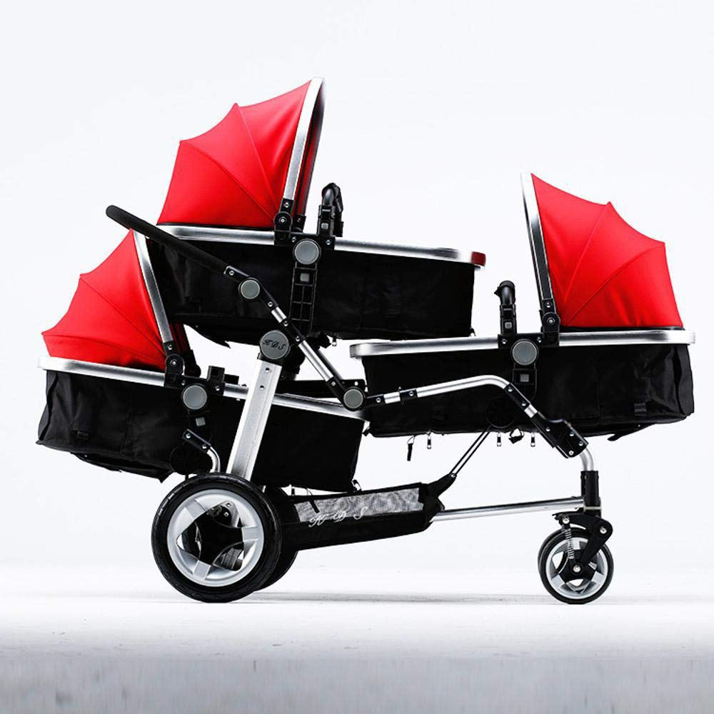 Amazon.com: Littlefairy Baby Carriage,Triplets Stroller Baby ...