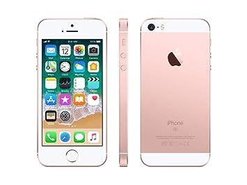 25e373c5a6 Amazon | Apple iPhone SE SIMフリー 16GB ローズゴールド 国内版 SIM ...