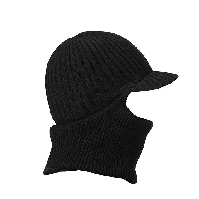 Peak Mall Winter Warmer Knitted Hat Balaclava Beanie Hat Windproof