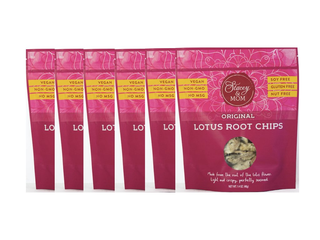 Amazoncom Stacey Mom Lotus Chips Vegan Gluten Free 14 Ounce