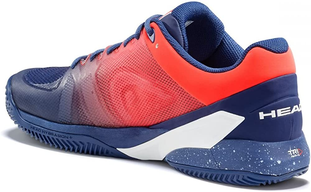 Head Revolt Pro 2.5 Clay Tennisschuhe Herren Blue Flame Orange