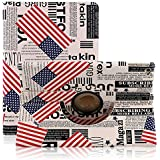 ELEOPTION Auto Sleep/Wake Function 360 Degree Rotating Smart Case Cover for 7.9 inch Apple iPad Mini/iPad Mini 2 with Retina with a Stylus as a Gift (USA Flag)