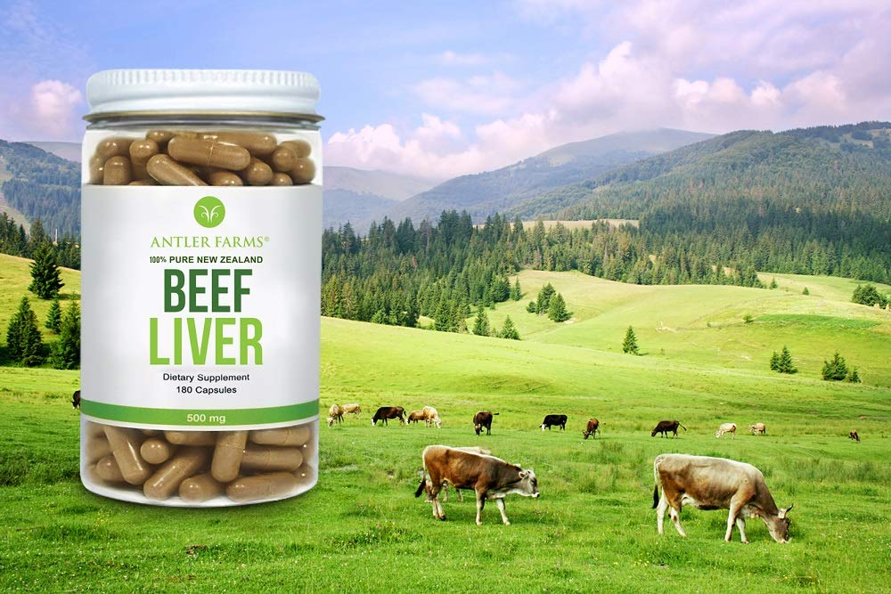 Amazon.com  Antler Farms - 100% Pure New Zealand Beef Liver bc6c8a1bf7a