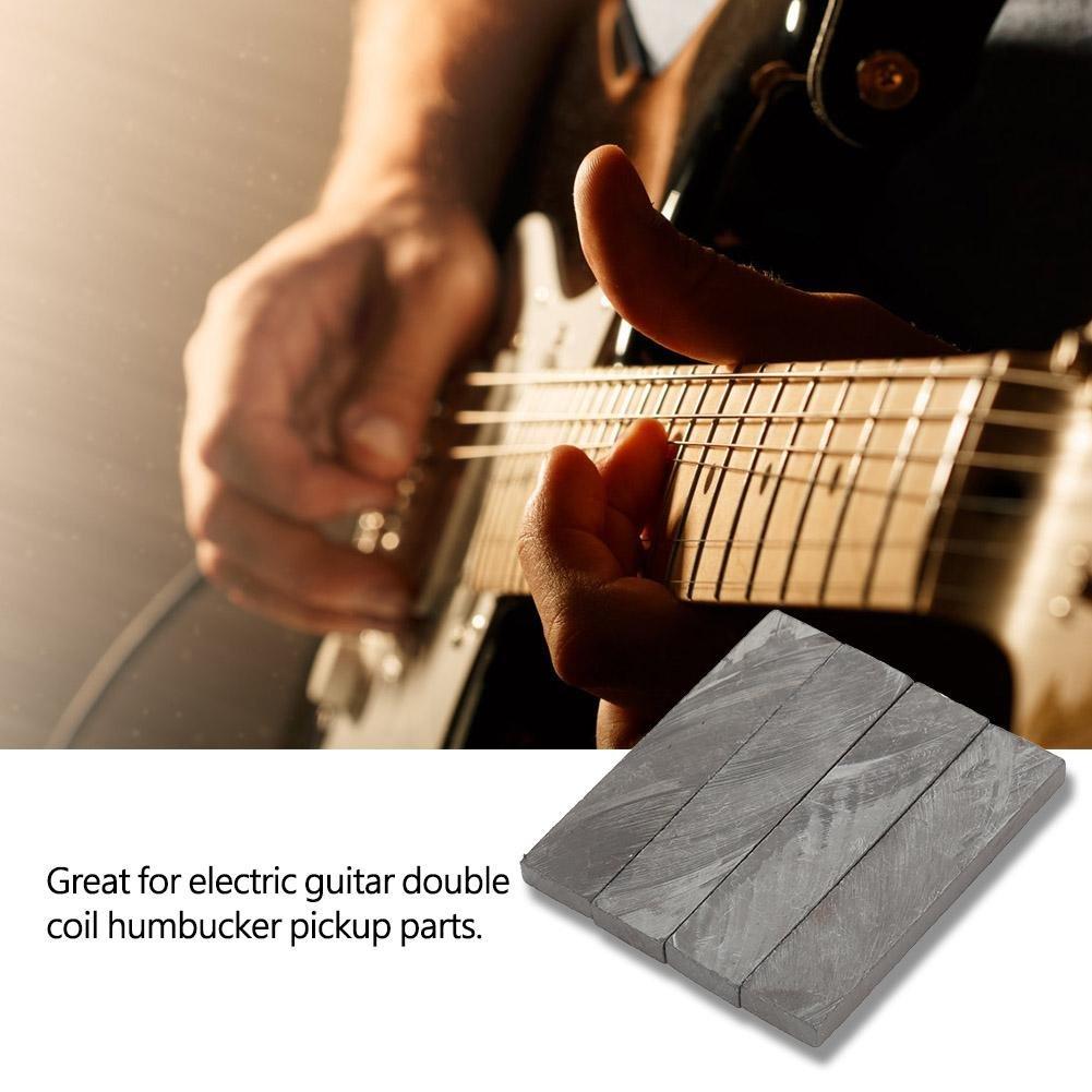 Alomejor Guitarra Humbucker Pickup Bar, imanes de Guitarra eléctrica imanes Barra música Instrumental Accesorio: Amazon.es: Deportes y aire libre