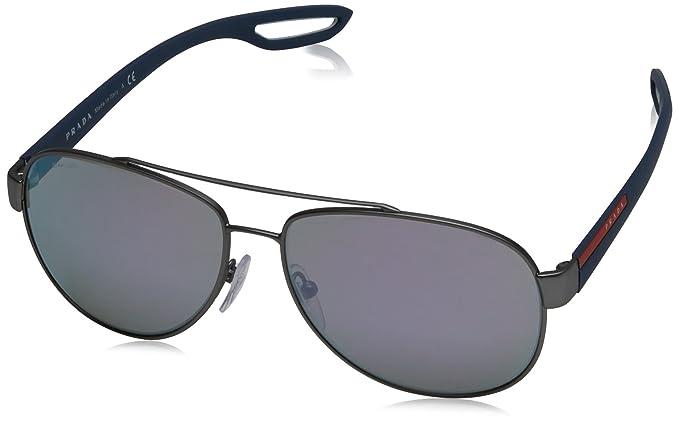 Prada Sport Hombre 0PS55QS DG12E2 59 Gafas de sol, Gris ...