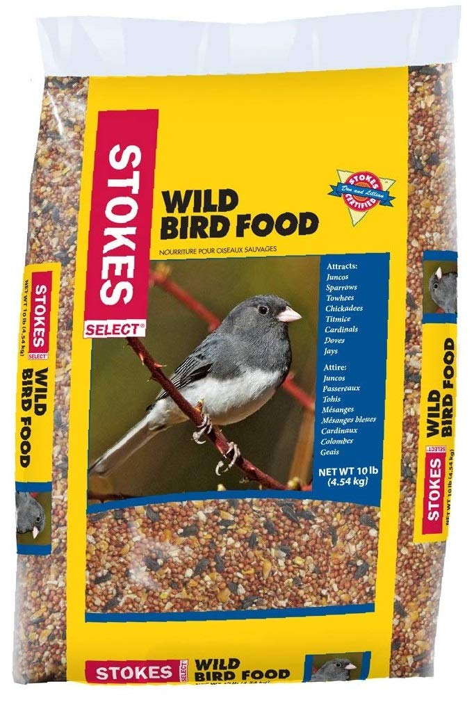 Wild Bird Food Select Bag, 10 lb, New Type