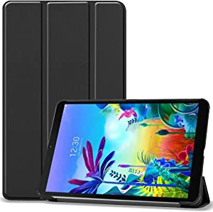 ProCase LG G Pad 5 10.1 FHD Case, Slim Light Smart Cover Trifold Stand Hard Shell Folio Case for 10.1 inch LG G Pad 5 2019 -Black