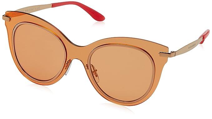 Dolce & Gabbana 0Dg2172, Gafas de Sol para Mujer, Rojo ...