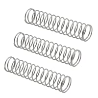 3Pcs Trumpet Piston Valve Spring Musical Instrument Replacement Accessories - Sliver Geshiglobal